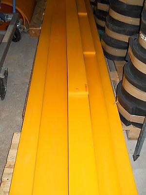 Schürfleiste PUR Polyurethan PU Schneeschild Schneeräumleiste 1400 x 100 x 10 mm