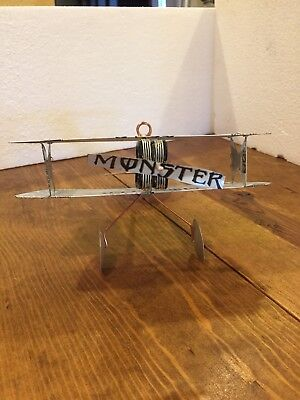 Monster Energy Handcrafted Biplanes Monster Engine Zero Ultra Aluminum Art 4