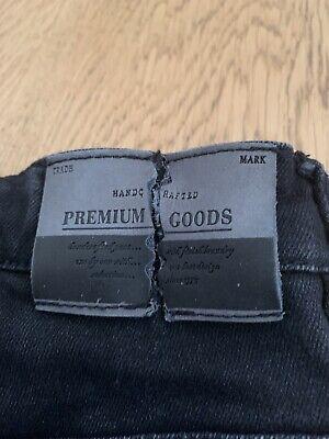 Zara Kids Boys Jeans Size 11/12 Years 152cm Black Skinny 7