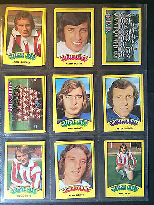 A&Bc 1974 Footballers Red Back (Very Good+ 91-132) *Pick The Cards You Need*** 2