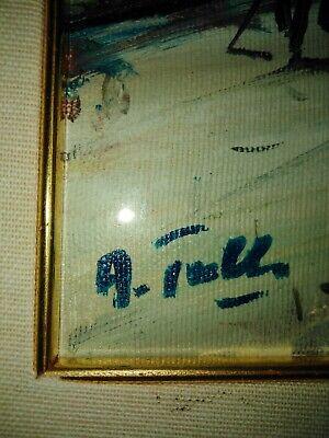 Quadro In Stile Impressionista Firmato 3