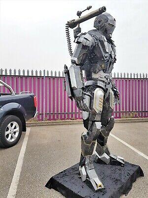 Model Metal Art Productions Sculpture Iron Man Crouching15cm Figure