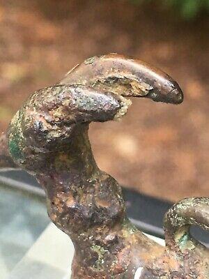 Fine Antique Luristan Bronze Pendant Ibex Ram CHRISTIES Museum Piece EX-PISCOPO 5