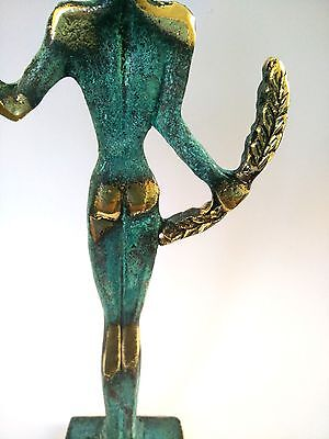 Ancient Greek Bronze Museum Statue Replica Of Olympic Games Winner Collectable 11