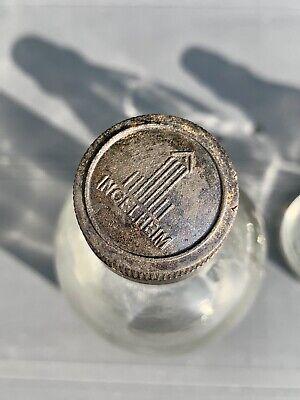 8x alte Apothekerflaschen vor 1945 Wehrmacht Lazarett Gerresheimer Glas AG 9