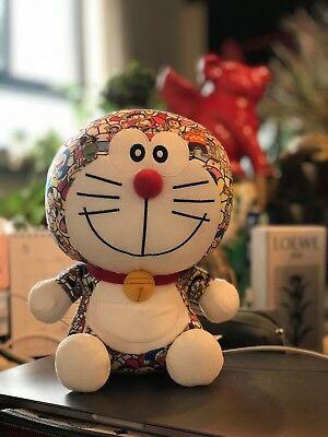 """2018 UNIQLO DORAEMON Takashi Murakami Limited Plush Doll Toy NEW 9"""""""