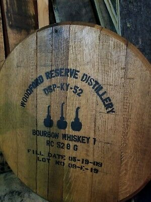 Woodford Reserve Kentucky Bourbon Barrel Heads Blantons Ky Whiskey Lid Sign Tops 3
