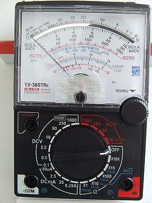 YX-360TRE Analog Multimeter Sinometer 8 Funktionen 19 Bereiche Spiegelskala