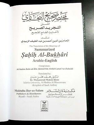 Islamic Book. Summarized Sahih AL-Bukhari. P 1996 Arabic English 3