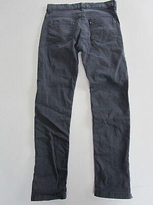 Girls JOHN LEWIS Stretch Skinny Canvas Jeans Dark Grey/Blue age 11yrs 5