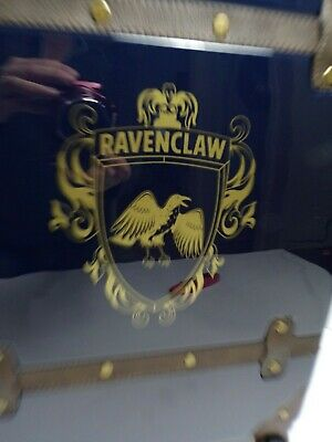 Pottery Barn Harry Potter Hard Sided Ravenclaw Carry-on Spinner Suitcase #4625 2