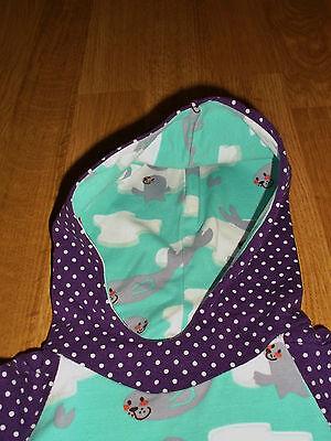 Wie Von Dawanda Kapuzenpullover Hoodie Shirt Kapuze Seerobben Gr 62/68 Unikat 4
