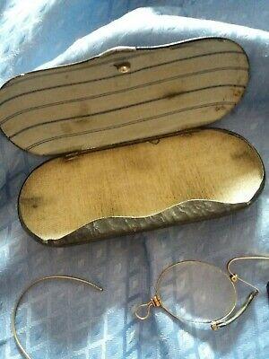 Kneifer, Zwicker Brille mit Etuie von Optal 2