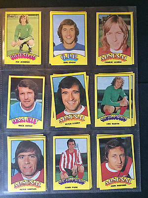 A&Bc 1974 Footballers Red Back (Very Good+ 91-132) *Pick The Cards You Need*** 6