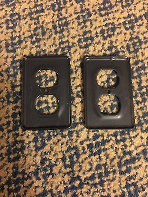 Corrosion-Proof Receptacle Plate (Lot of 2) 2