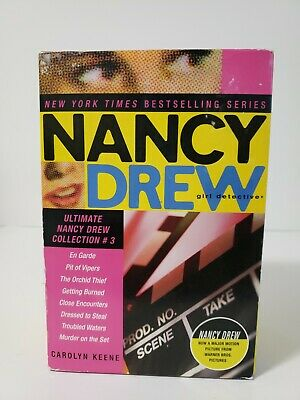 NANCY DREW Girl Detective book set #17-24 2