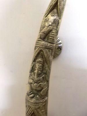 Brass Elephant Husk Model Door Handle Lord Ganesha Statue Figurine Unique Gift