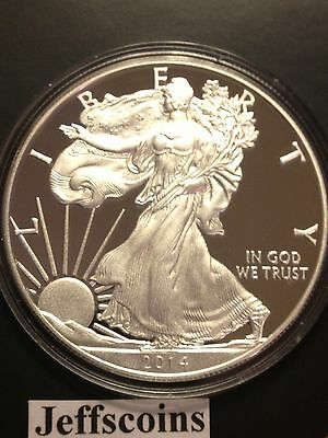 2018 S AMERICAN EAGLE SILVER DOLLAR Proof San Francisco Mint 1oz .999 Coin 18EM 10