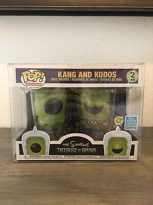1 KANG & KODOS Funko Pop! 2-Pack Vinyl 0.50mm Box Protector Acid Free Clear Case 4