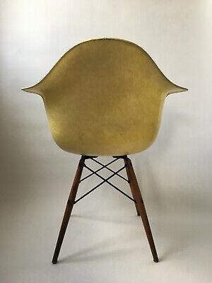All original 1. Generation Zenith Rope Edge Eames Herman Miller Fiberglass Chair 3