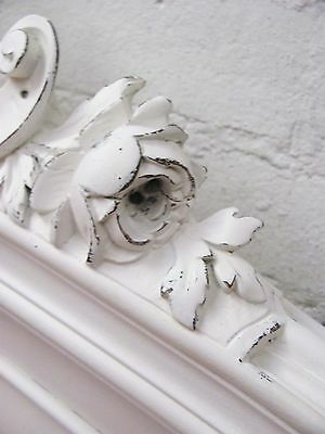 Stunning Antique French Double Rococo Crested Bed - C1920 8