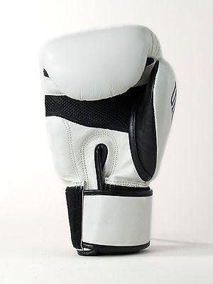 Sandee Boxing Gloves Muay Thai Cool Tec Black Blue Red White 10oz 12oz 14oz 16oz