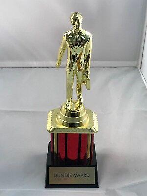 "Dundie Trophy Award The Office TV Dunder Mifflin Dundee 10 1/2"" Dunde NEW 5"