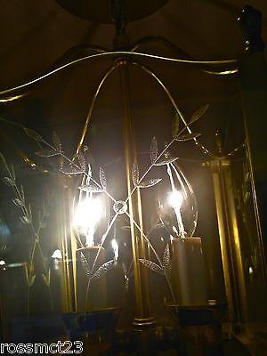 Vintage Lighting Mid Century foyer pendant by Moe 2