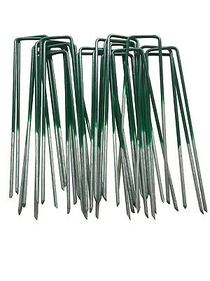 Metal Ground Garden Membrane Pins Fabric Hooks Pegs Staples U Pins 2