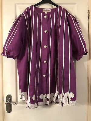 Handmade African Style Ladies Blouse And Skirt Set, Size 18 2