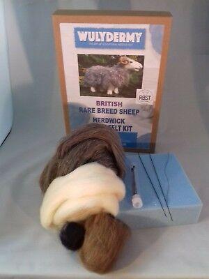 Herdwick British Rare Breeds sheep  needle felt kit  UNBOXED WULYDERMY 6