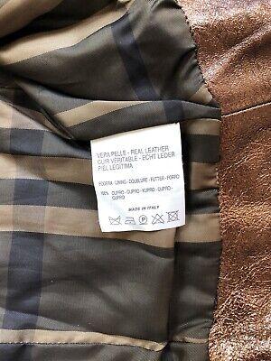 BURBERRY Children Mädchen Jacke Leder Gr.122 6-7 years girls leather jacket belt 12