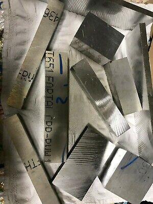 Aluminum Plate  Assortment 40 Pounds Drops Scrap  Quality Block Bar  QC 10 stock 6