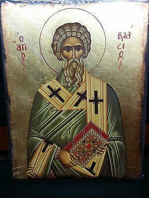 Saint John Greek Byzantine Orthodox Icon 20x26cm
