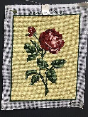Job Lot Vintage Carol Payton Royal Paris Embroidery Needlepoint Tapestries 6