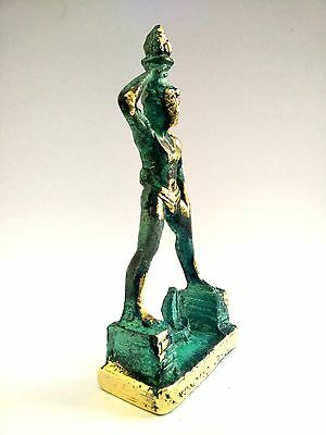 Ancient Greek Bronze Museum Statue Replica Colossus Rhodes 7 Wonders Collectable 4