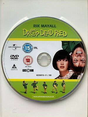 Drop Dead Fred DVD 1991 Cult Imaginary Friend Comedy with Rik Mayall 3