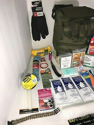 Disaster Emergency Survival Kit Bug Out Bag Camping earthquake Hurricane 9