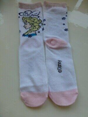 Disney Frozen Anna Elsa Girls Socks  Three (3) Pairs  Age 11+ Years Size 4-5.5 9