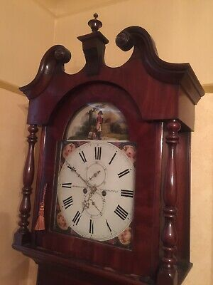 Longcase Clock Lockwood & Cooke Huddersfield Fully Working 8