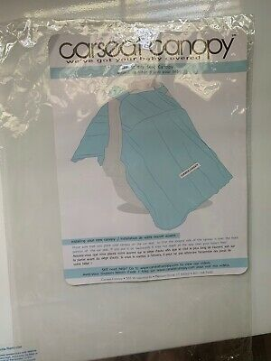Used ~Mikayla Pattern Baby Carseat Cover Canopy Couture Brand~ Excellent Cond 5