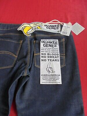 "BOYS SKINNY ""MONKEE GENES"" . WAIST 27 inches INSIDE LEG 32 inches. NEW WITH TAG 2"