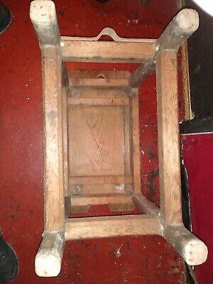 Beautiful Antique  English  Cobblers Bench 10