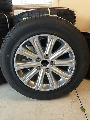 Honda Odyssey Tires >> Brand New Honda Odyssey Touring Michelin Pax Tire Factory