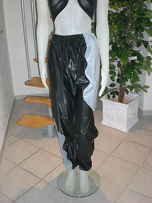 Ultra Soft Pvc Sauna Schwitz Hose Jogginghos Jogging Trousers L & Xl 10
