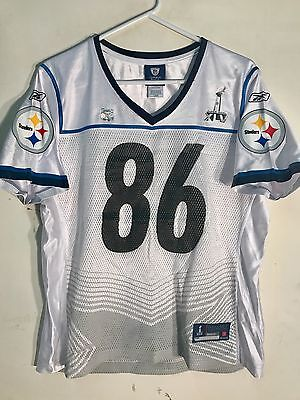 6f22c4842 ... Reebok Women s NFL Jersey Pittsburgh Steelers Hines Ward White Super  Bowl 45 S 2