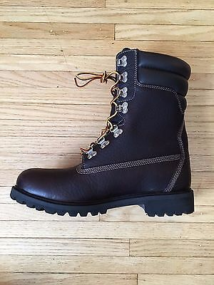 best website 3be83 9098f ... BNIB Mens TIMBERLAND 40 BELOW WNTR EXTR SUPER BOOT Hazel Brown TB0A173H  LIMITED 5