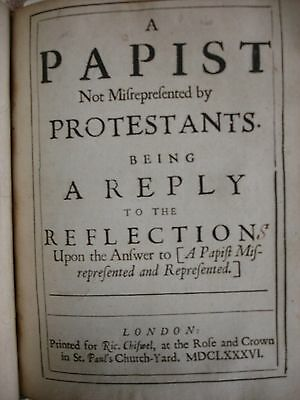 A Papist (1685-1686) - FBHP-11 5 • CAD $825.66