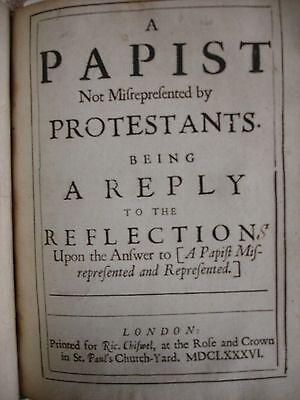 A Papist (1685-1686) - FBHP-11 5