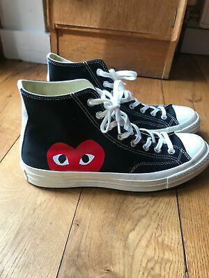 100% quality most popular cute CONVERSE X COMME des Garcons CDG Play All Star Chuck Taylor ...